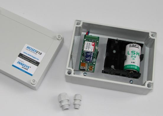 Datenlogger-Batteriesatz-Gehäuse
